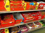 Candy Bars and other Candies